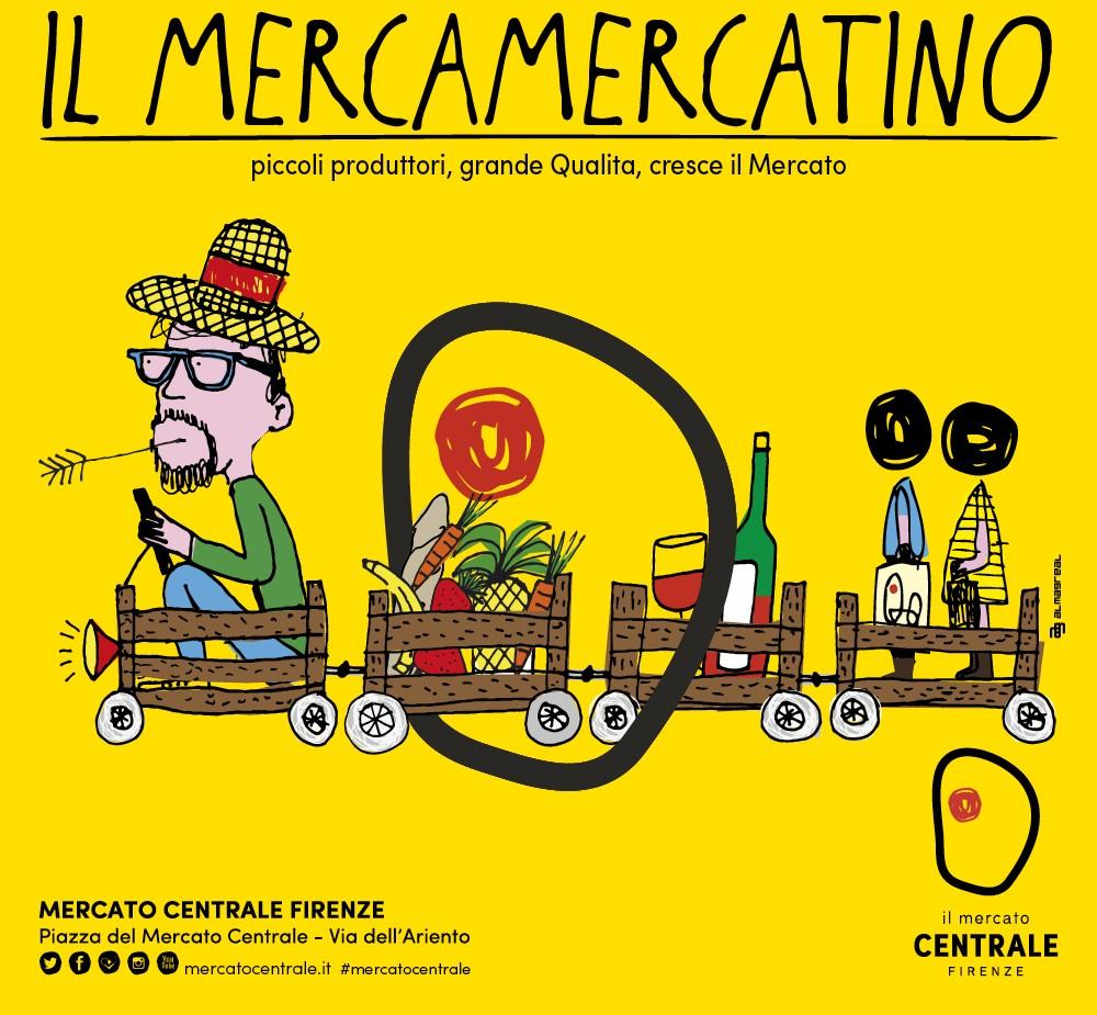 Il MercaMercatino al Mercato Centrale di Firenze