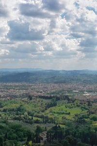 Fondazione Michelucci, Vista dalla terrazza del giardino