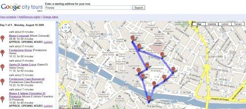Google City Tours