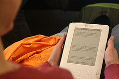 Kindle e-book reader
