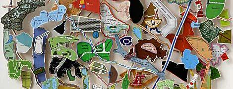 Map Circle (Akimiski Island) di Chris Kenny - dettaglio