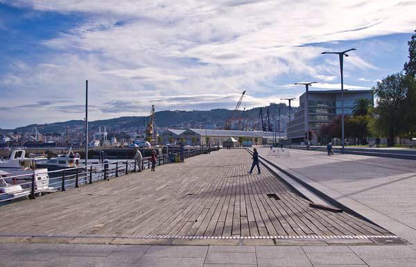 Il porto turistico di Vigo