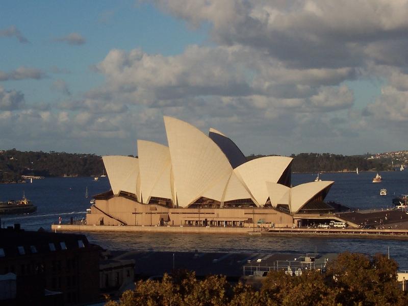 Arrivo a Sydney