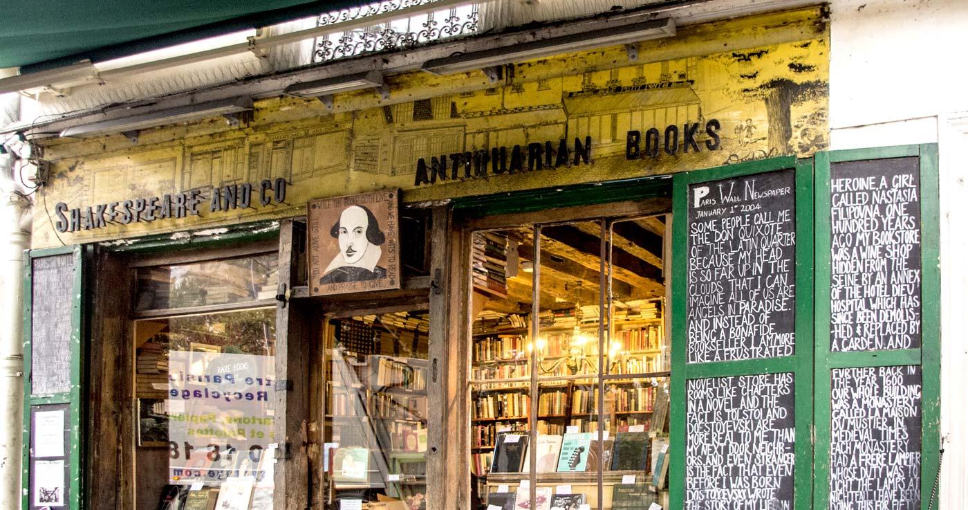 Dormire gratis a Parigi… tra i libri!