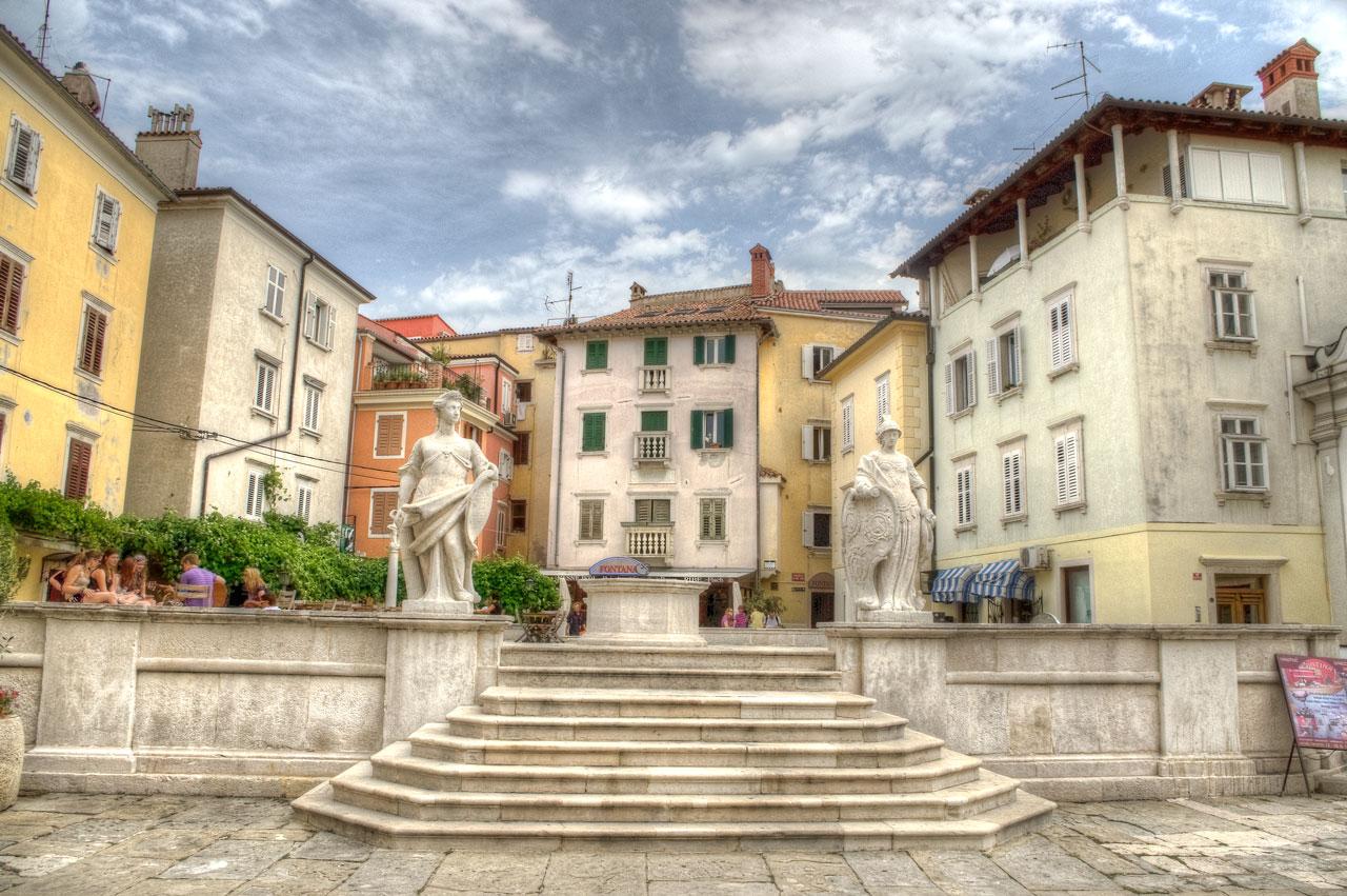 Il centro storico di Pirano – parte 1/2
