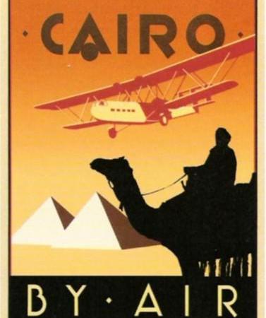 Poster Cairo, anonimo