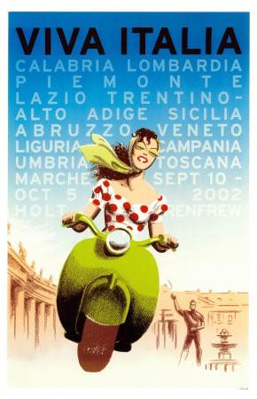 Poster Viva l'Italia, anonimo