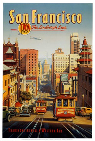 Poster The Lindbergh Line, E. Eriksson