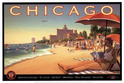 Poster Chicago, E. Eriksson