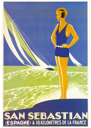 Poster San Sebastian, anonimo