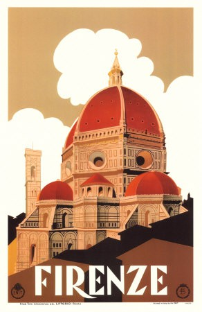 Poster Firenze, anonimo