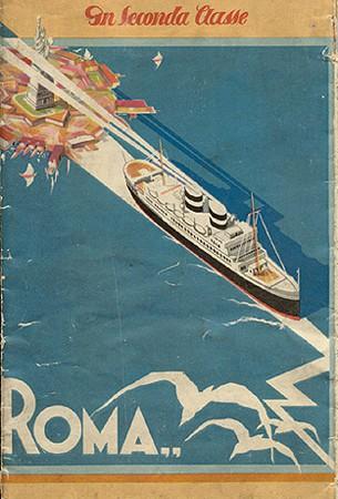 New York - Mediterraneo en Seconda Classe, 1930 (Collezione David Levine)