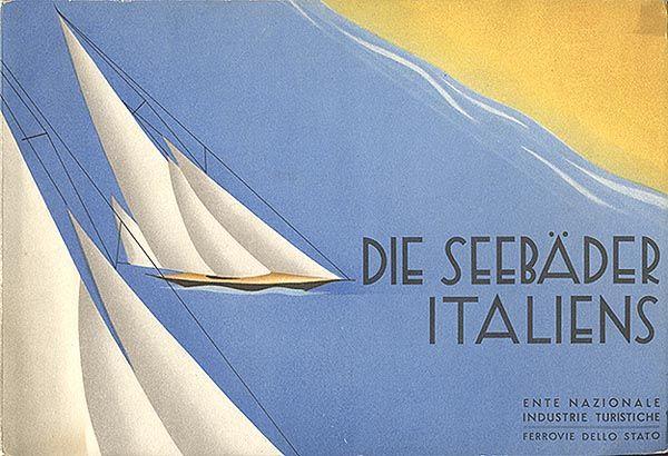 Die Seebäder Italiens, 1934 (Collezione David Levine)