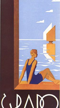 Brochure Grado, 1933 (Collezione David Levine)