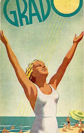 Brochure Grado, 1938 (Collezione David Levine)