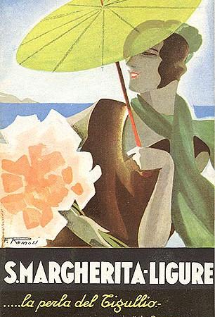 Brochure S. Margherita Ligure, 1935 (Coll. David Levine)