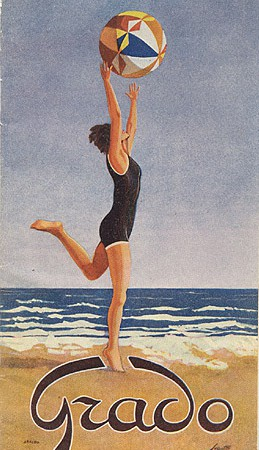 Brochure Grado, 1930 (Collezione David Levine)