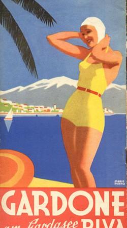 Brochure Gardone am Gardsee Riva 1936
