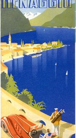 Brochure Menaggio, Lago di Como, 1937 (Collezione David Levine)