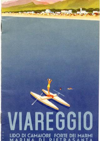 Brochure Viareggio, circa 1934 (Collezione David Levine)