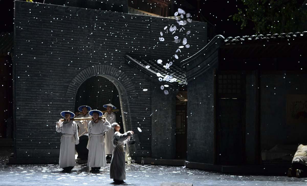 Il ragazzo del risciò foto courtesy of NCPA Beijing
