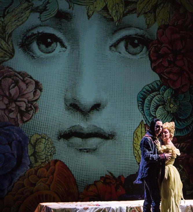 Una scena di Don Giovanni, foto Ray Tarantino