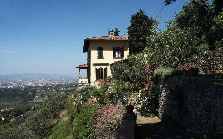 Il Giardino della Fondazione Michelucci oggi