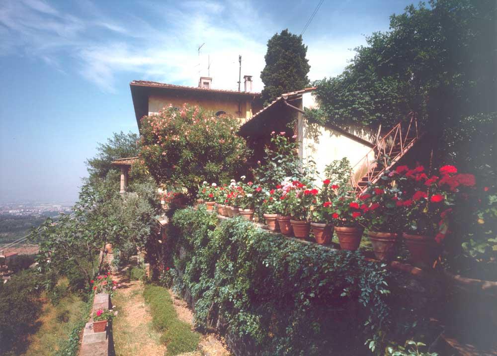 Il Giardino della Fondazione Michelucci negli anni Sessanta