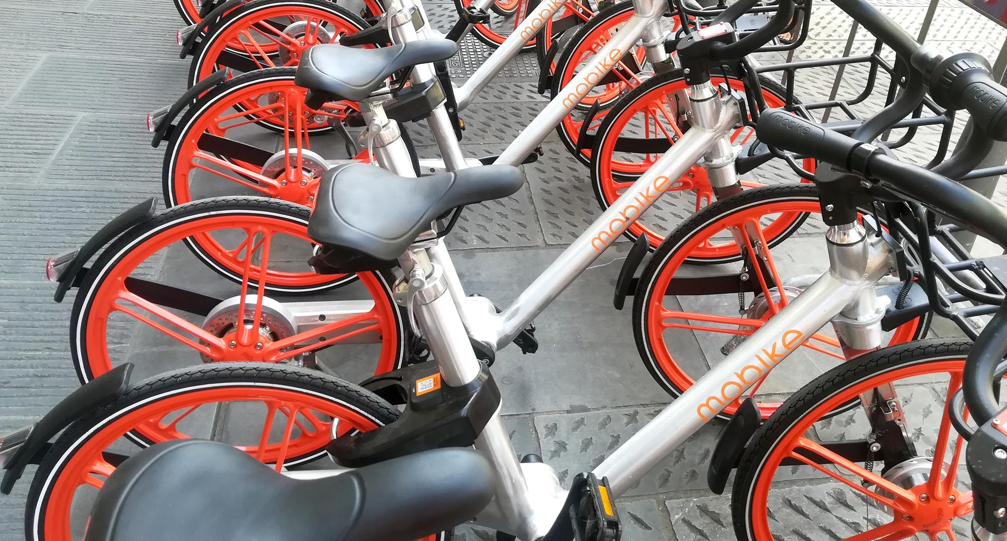 Mobike: il bike sharing di nuova generazione sbarca a Firenze