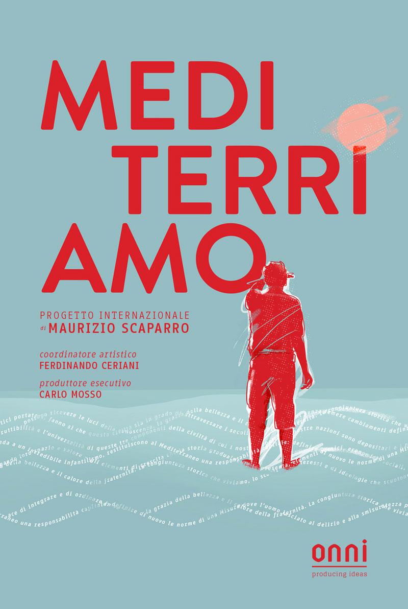 """Manifesto della manifestazione """"Mediterri-amo"""""""
