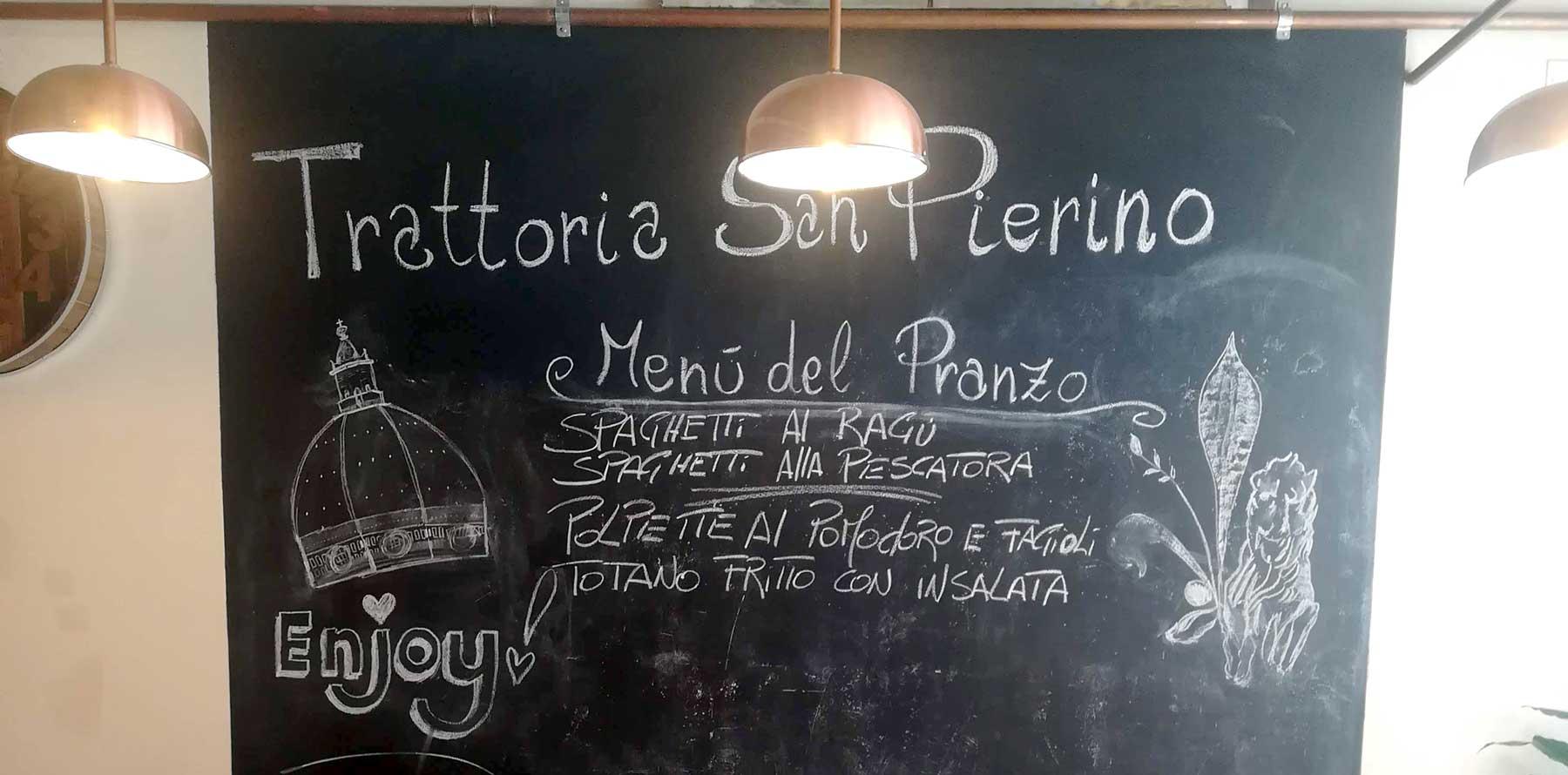 Mangiare toscano a Firenze alla Trattoria San Pierino